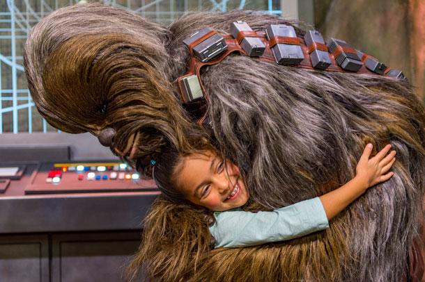 Também quero um abração do Chewie <3