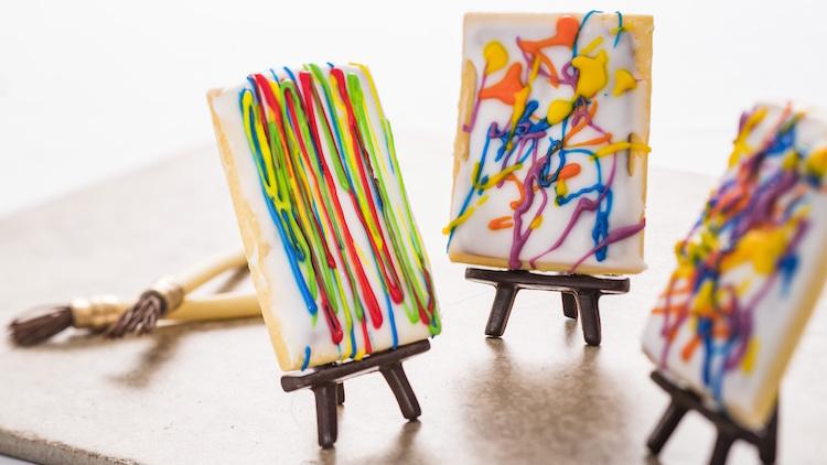 Até as Pop Tarts ficam artísticas no festival!