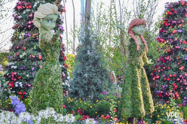Óbvio que elas não ficariam de fora do Flower & Garden Festival que acontece também em Abril!