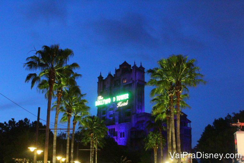 Tower of Terror, uma das atrações mais legais do Hollywood Studios!