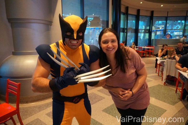 Wolverine no jantar da Marvel! O mais divertido de todos!