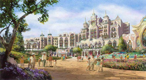Conceito do hotel de luxo que fará parte da expansão em Tóquio