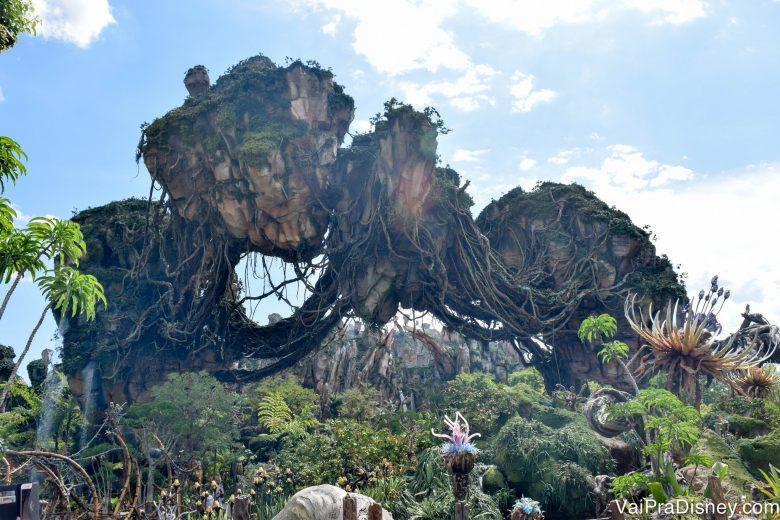 Área de Avatar, um dos muitos motivos para os parques merecerem o amor de tantos turistas!