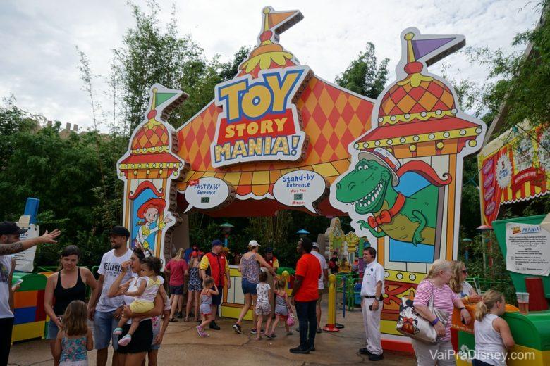 Nova entrada do Toy Story Mania!