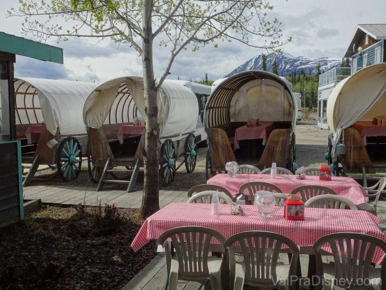 Foto do local para almoçar em Caribou Crossing
