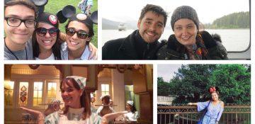 Montagem com diversas fotos dos membros da equipe do VPD, como Renata e Felipe, Bia, Marcelo e Paula!