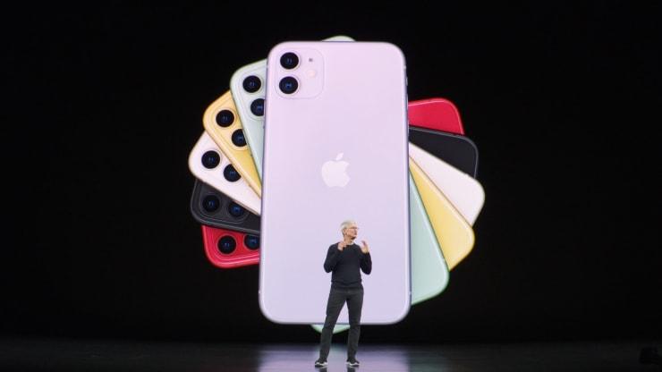 Lançamento dos novos iPhones - iPhone 11, 11 Pro e 11 Pro Max.