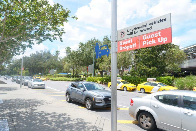 Todos os parques tem ponto de embarque e desembarque para quem usa Uber e outros aplicativos