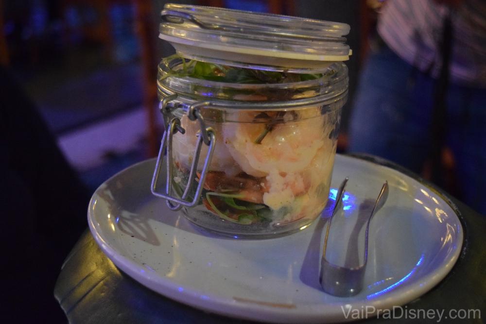 Mas o camarão fez mais sucesso com o resto da mesa.