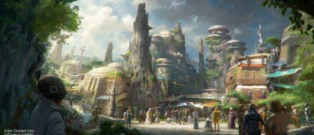 Não tem o que falar: a área de Star Wars vai ser incrível!
