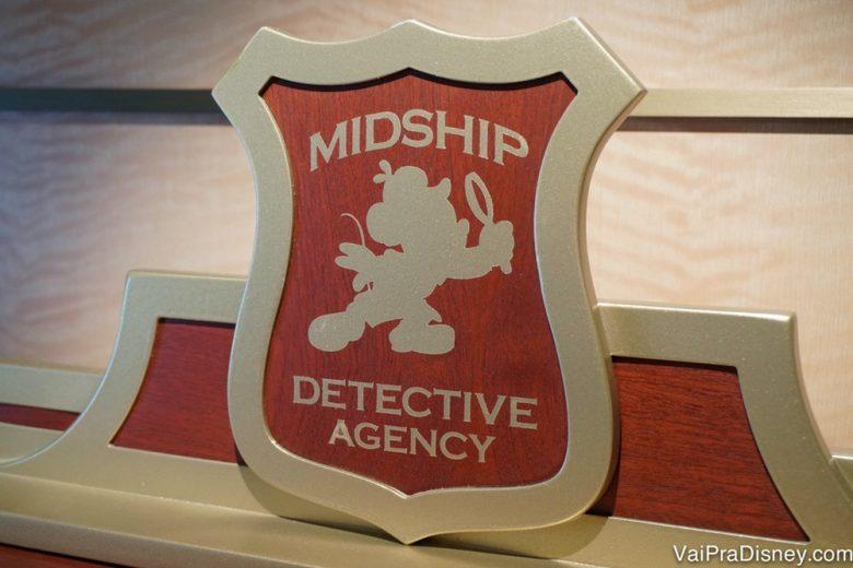 O Midship Detective Agency é um joguinho super legal, mas eu evito ficar em cabines muito próximas aos quadro interativos (que ficam perto dos elevadores do Dream e do Fantasy).