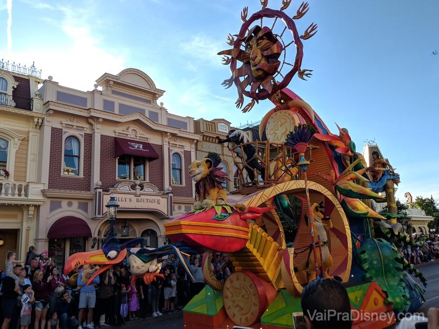 A parada da Disneyland Paris