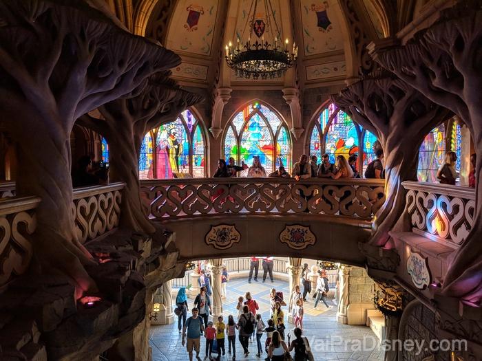 Disneyland Paris - Dá pra entrar no castelo!