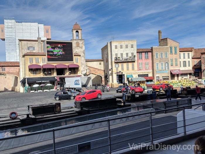 O show do Walt Disney Studios Park é parecido com o que tinha em Orlando, é super legal!