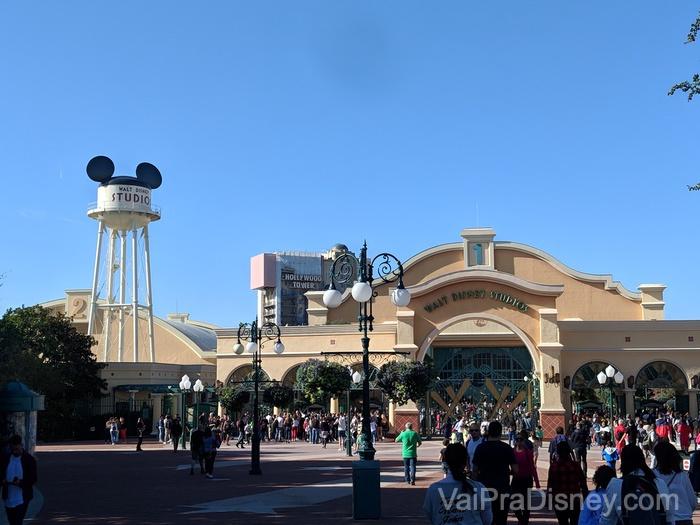 Walt Disney Studios é o segundo e mais recente parque do complexo