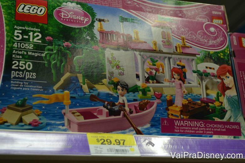 Um dos brinquedos que é bem mais barato nos EUA: Lego! E massinha também, viu? Duas das coisas que quase toda criança ama!