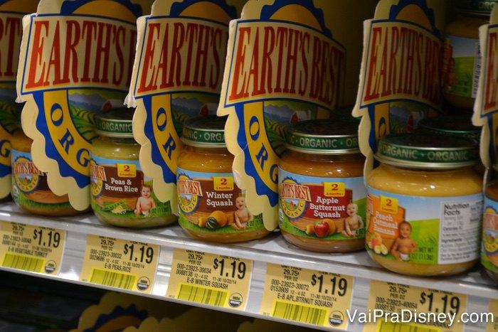 Você encontra diversas papinhas em todos os supermercados.