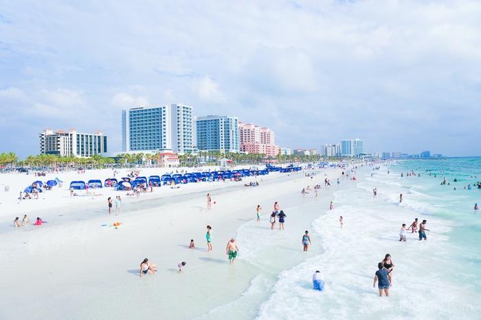 As praias da Flórida