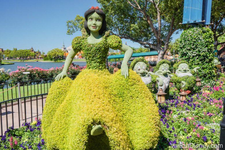 O Flower & Garden Festival acontece por volta da época da Páscoa.