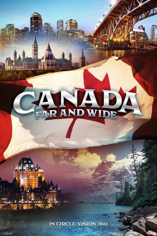 Pôster do novo filme que vai inaugurar no pavilhão do Canadá.