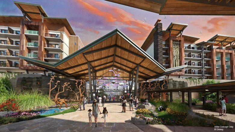 Conceito do novo hotel Reflections: A Disney Lakeside Lodge, que trará casinhas na árvore
