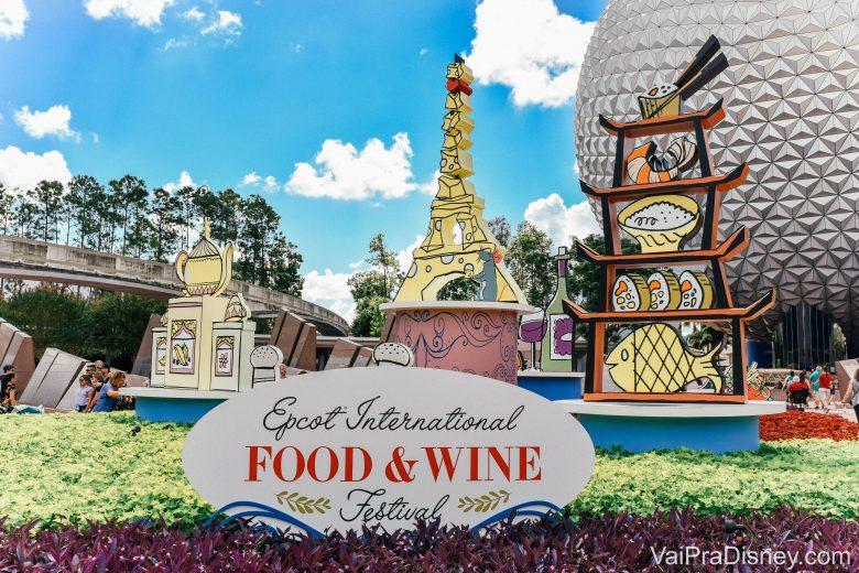 """O <a href=""""https://www.vaipradisney.com/blog/disney-food-wine-festival/"""" target=""""_blank"""" rel=""""noopener"""">Food&amp;Wine</a> no Epcot acontece normalmente entre agosto e novembro e é um dos meus preferidos."""