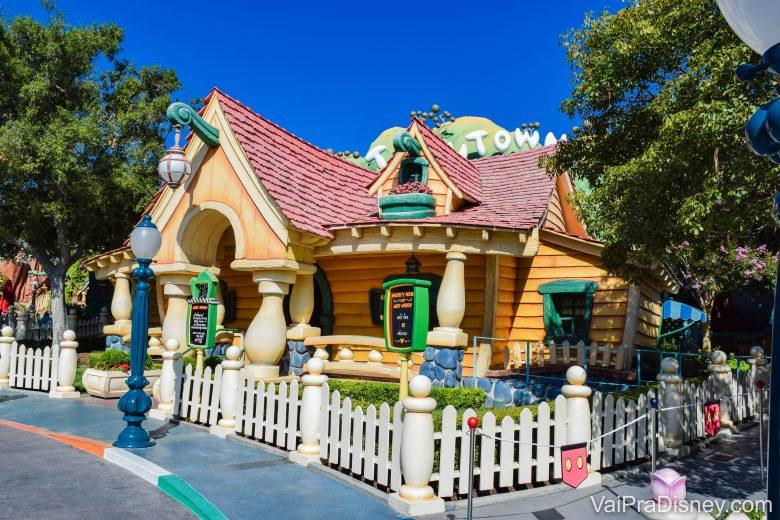 Disneyland California - Dá pra encontrar o Mickey na casinha dele!