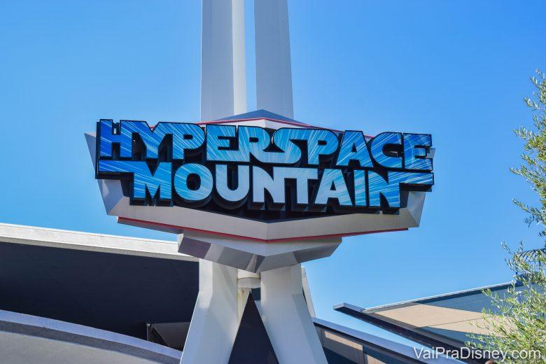 Disneyland California - Não quero ficar comparando mas não tem jeito, a Space Mountain aqui é MUITO melhor!