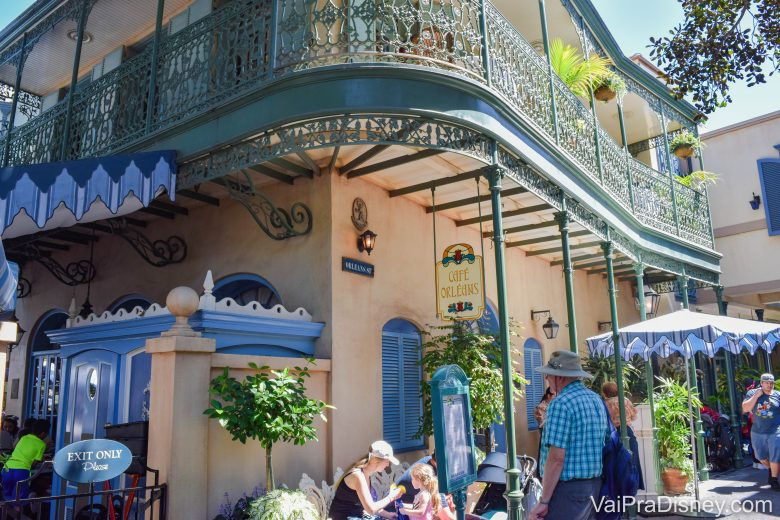 Disneyland California - O Café Orleans tem opções além do hambúrguer!