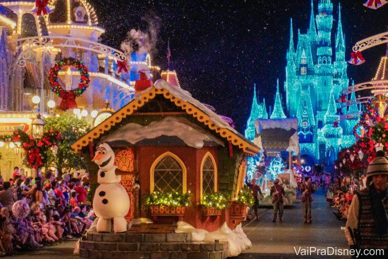 Olaf também está presente no Natal!