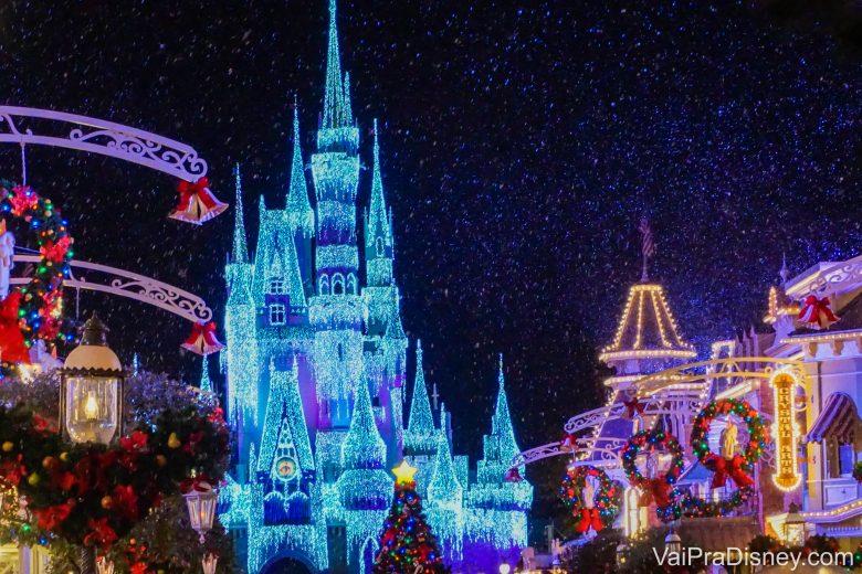 A época mais linda dos parques de Orlando!