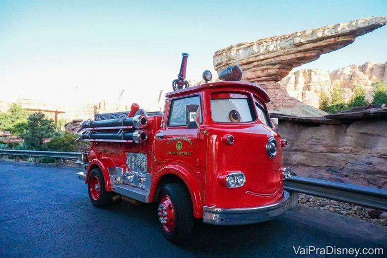 California Adventure - A área de Carros é cheinha de detalhes!