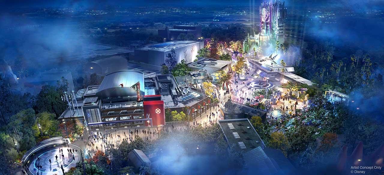 Disney anuncia detalhes e abertura de Avengers Campus na Califórnia