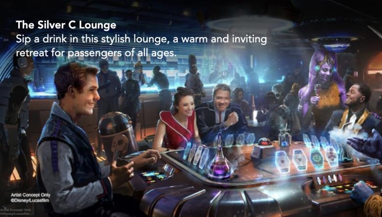 O Silver C Lounge, um local para confraternização e entretenimento