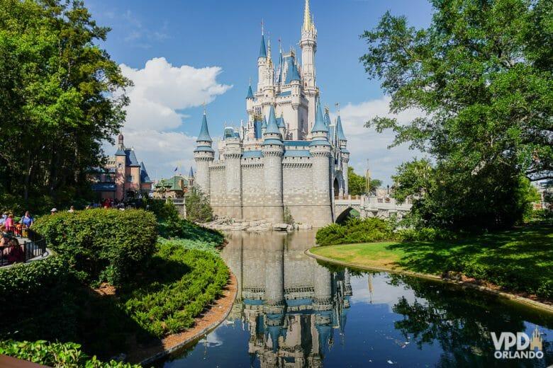 99% das pessoas querem ver este castelo, mas quais outros parques você quer ver em Orlando?