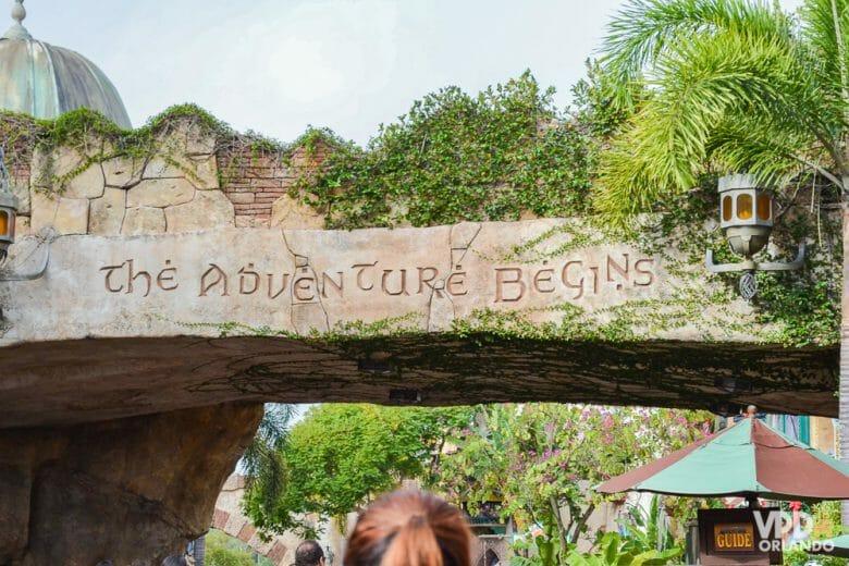 O Islands of Adventure tem várias atrações bem radicais!