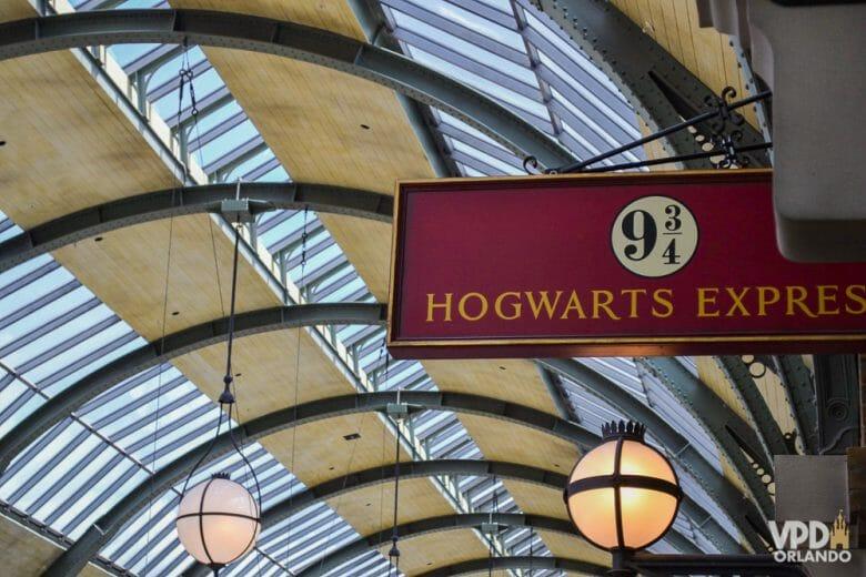 O ingresso park to park é necessário pra usar o Hogwarts Express