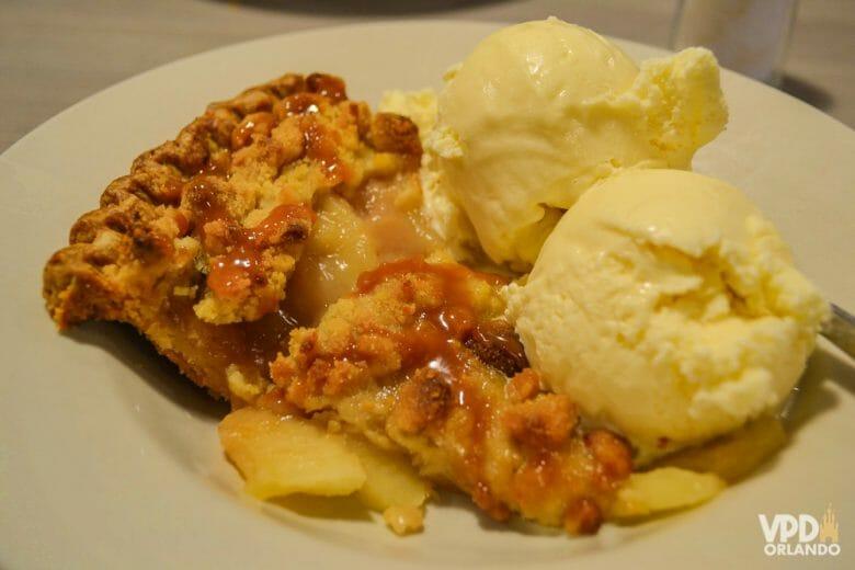 A melhor torta de maçã! hummmm