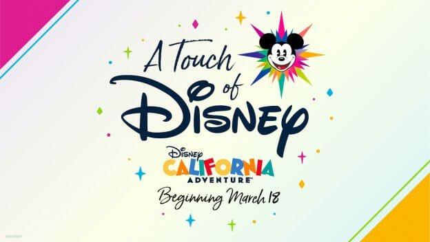 Imagem de divulgação do novo festival do Disney California Adventure, chamado de A Touch of Disney