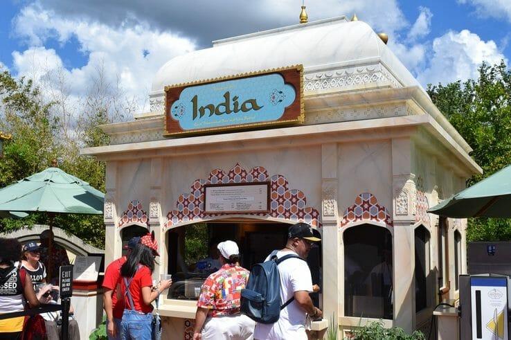 Quiosque da Índia do festival de 2019