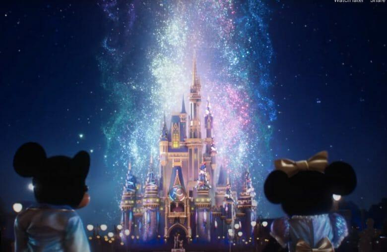 Cena do novo vídeo de divulgação da campanha de 50 anos da Disney
