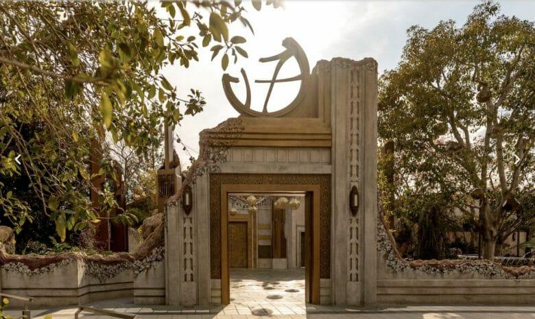 O santuário do Doutor Estranho. Imagem: Disney